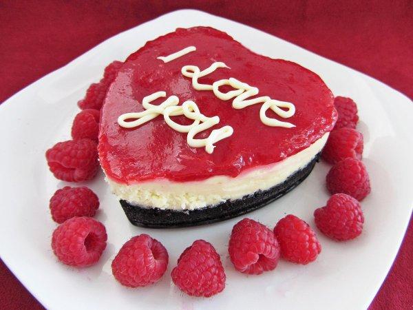 Мини-чизкейк на День святого Валентина