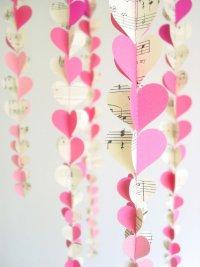 Гирлянда на День святого Валентина