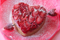 Клубничный пирог на День святого Валентина
