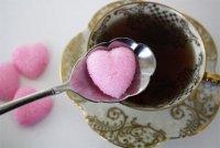 Сахарные сердечки на День святого Валентина
