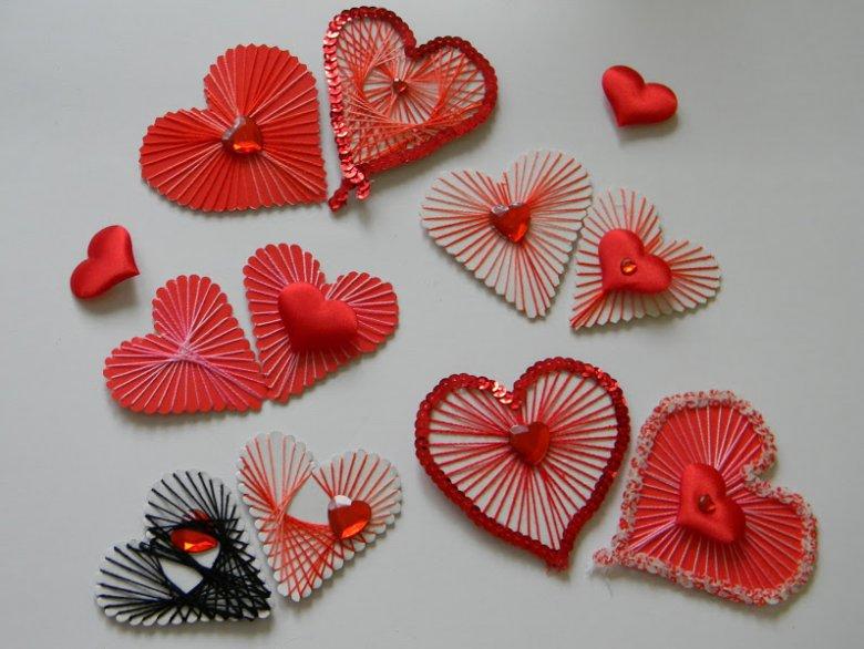 Как легко сделать сердечки ко Дню святого Валентина