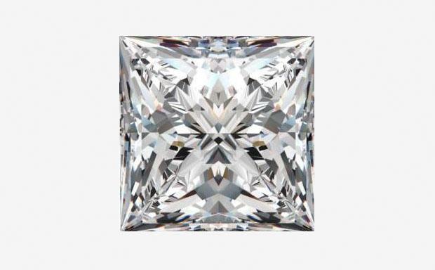 Формы огранки бриллиантов: квадратная