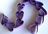 Невероятно простая гирлянда на День святого Валентина