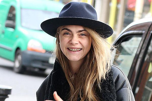 Золотые зубы Кары Делевинь