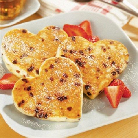 Завтрак на День святого Валентина: сырники из духовки