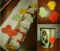 Идея подарка на День святого Валентина: чай с пожеланиями на каждый день