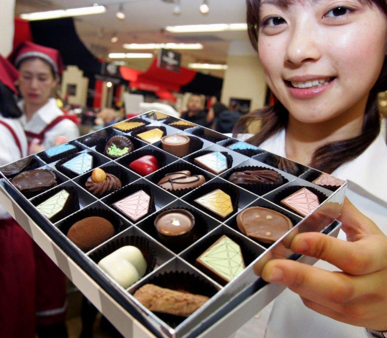 День святого Валентина в разных странах: Япония