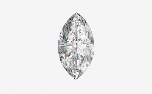 Формы огранки бриллиантов: «Маркиза»