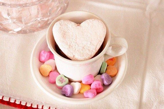 Домашний малиновый зефир на День святого Валентина