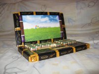 Настоящий мужской подарок: ноутбук из конфет