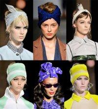 Модные новинки весна 2014: платок или косынка