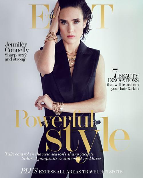 Дженнифер Коннелли на обложке журнала The Edit