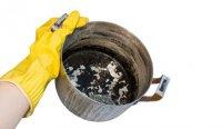 Как отмыть сгоревшую кастрюлю