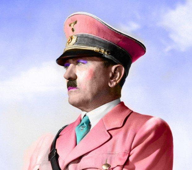 Коварный план британских шпионов по превращению Гитлера в женщину
