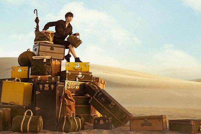 Стильные сумки в рекламной кампании Louis Vuitton