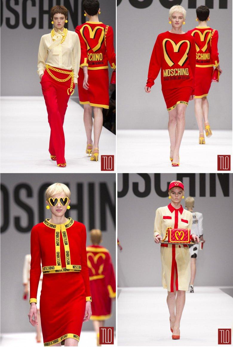 Коллекция одежды Moschino осень 2014