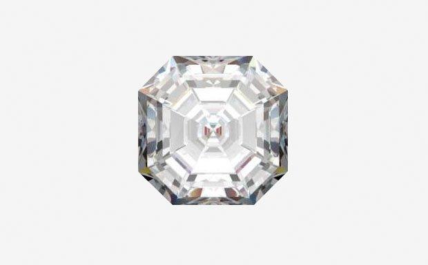 Формы огранки бриллиантов: «Ашер»