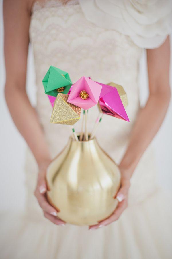 Свадебный тренд 2014: геометрия