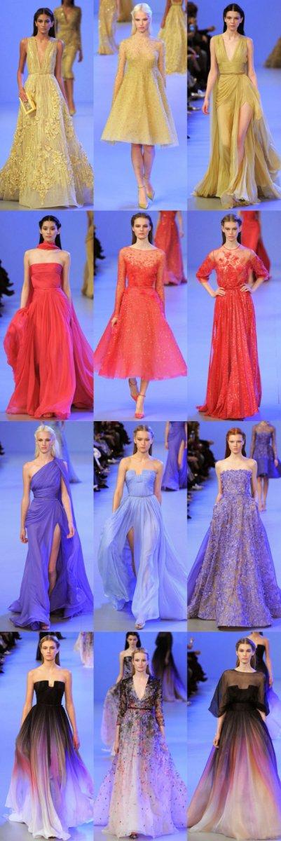 Свадебная коллекция Эли Сааб 2014