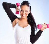 Упражнения для рук от Камерон Диас