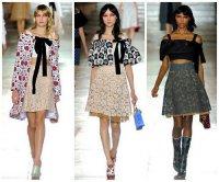 Модные кружевные юбки весна-лето 2014