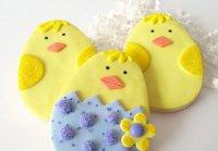 Идея украшения печенья на Пасху