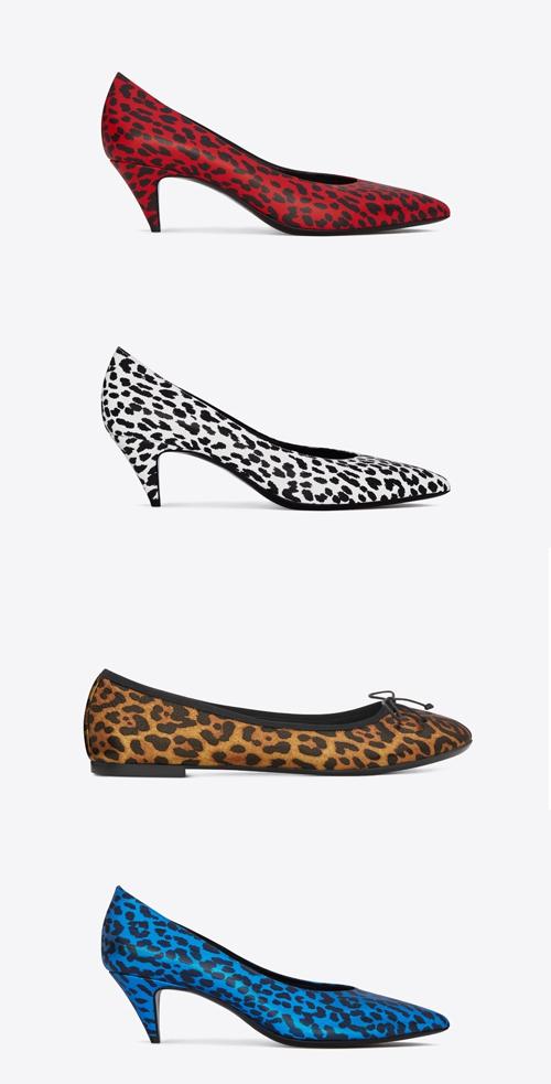«Хищная» обувь из новой коллекции Saint Laurent весна-лето 2014