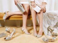 Изысканные аксессуары и обувь для невест от Jimmy Choo