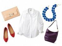 C чем носить белую рубашку