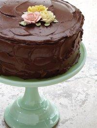 Рецепт блестящей шоколадной глазури
