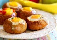 Фаршированные булочки на завтрак