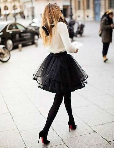 Must Have: фатиновая юбка