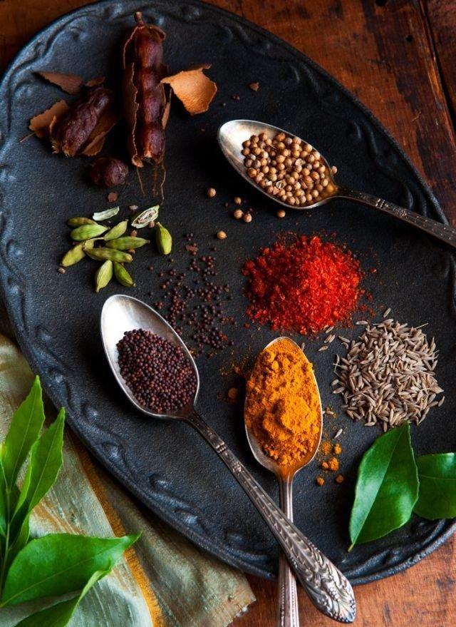 Пряности, которые помогут вам вредные продукты сделать полезными