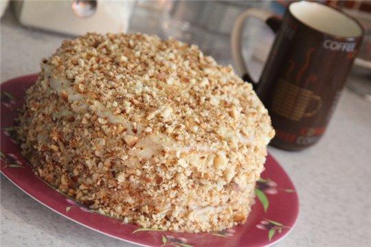 Рецепт торта на сковороде