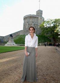 Эмма Уотсон на благотворительном вечере принца Уильяма