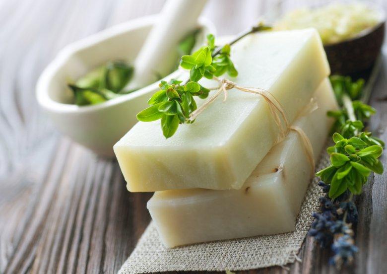Домашнее мыло для тела