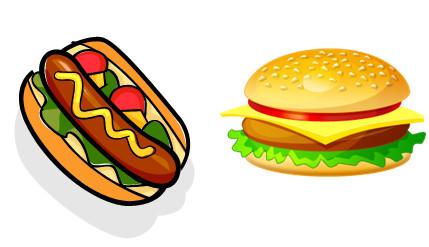 Гамбургер или хот-дог