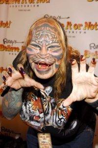 Женщина-тигр Денниз