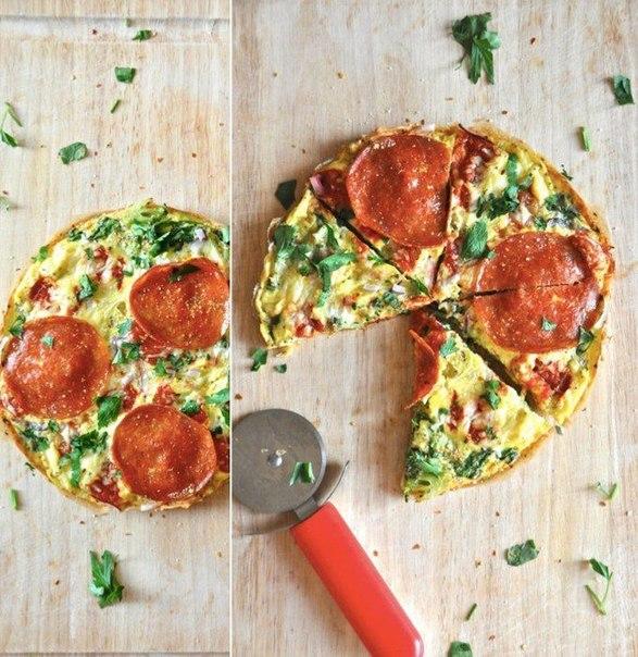 Рецепт пиццы-омлета