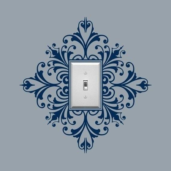 Идея для оформления выключателя