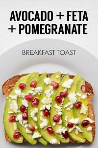Идея для завтрака: тост с авокадо