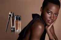 Люпита Нионго в качестве лица рекламной кампании Lancôme