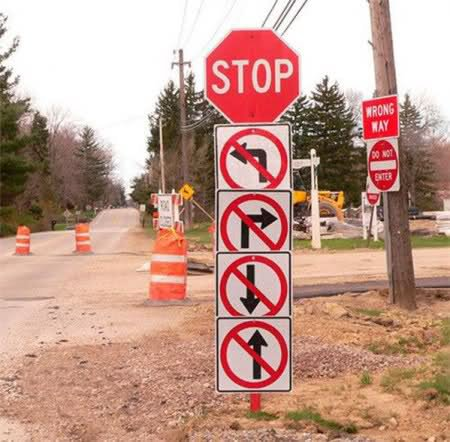 Самые нелепые правила дорожного движения