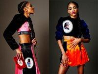 Элементы хип-хопа в коллекциях для ярких девушек