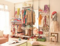 Комната модницы: идея гардеробной