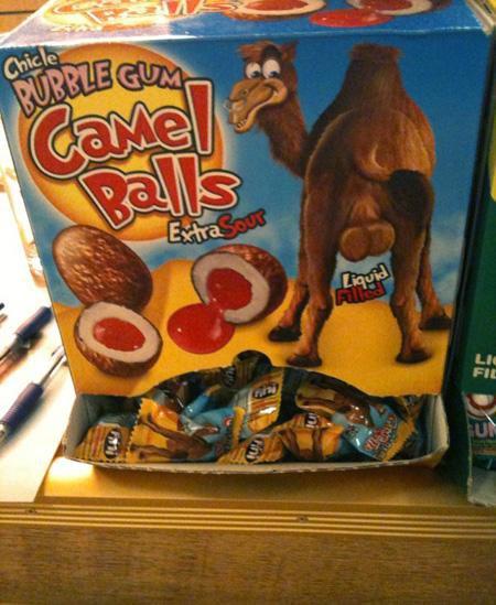 Жевательные конфеты Camel Balls