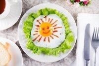 Как красиво подать яичницу