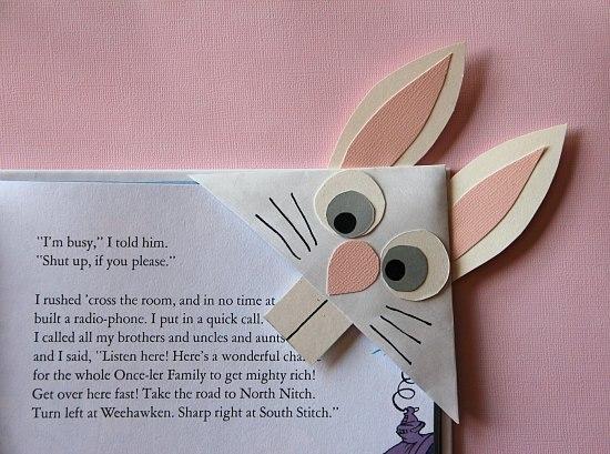 Детская закладка для книг