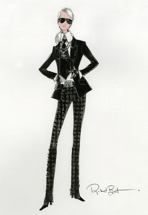 Карл Лагерфельд вместе с Barbie® создал новую икону стиля