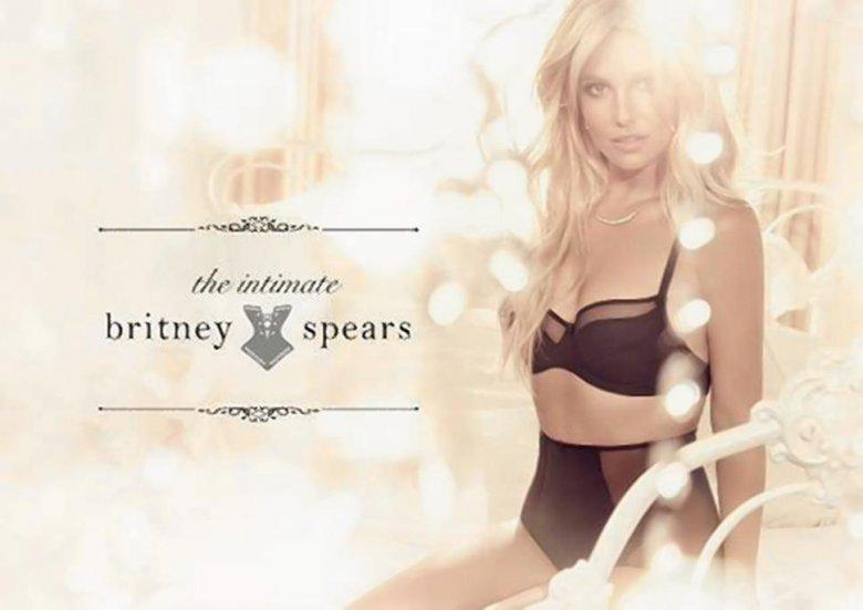 Бритни Спирс стала дизайнером нижнего белья